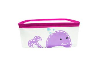 Marcus & Marcus Foldable Storage Basket Container w  Handles Baby Kids Whale PP
