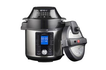 Masterpro 5L Ultimate Electric All-in-One Air Fryer MultiCooker w  Basket Black