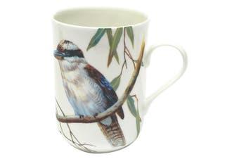 Maxwell and Williams Birds of Australia Coffee Tea Mug Cup 300ML Kookaburra