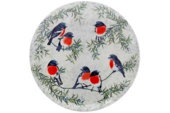 Maxwell & Williams Cashmere Birds of Australia Plate 20cm Scarlet Robins