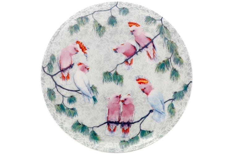Maxwell & Williams Cashmere Birds of Australia Plate 20cm Cockatoos Treetop