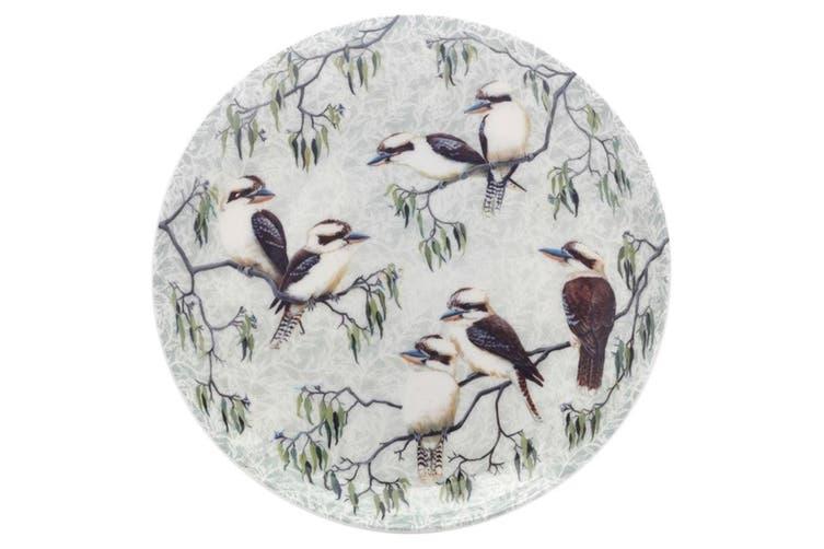 Maxwell & Williams Cashmere Birds of Australia Plate 20cm Kookaburras Treetop
