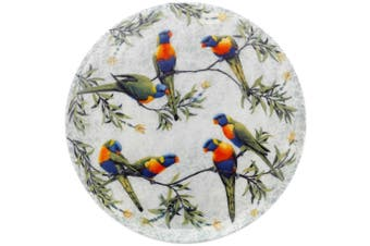 Maxwell & Williams Cashmere Birds of Australia Plate 20cm Lorikeets Treetop