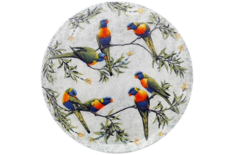 Maxwell & Williams Cashmere Birds of Australia Plate 20cm Lorikeets Treetop