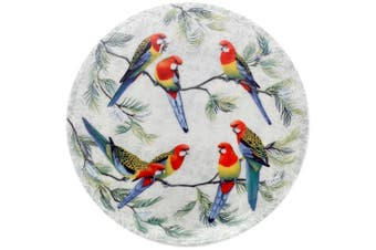 Maxwell & Williams Cashmere Birds of Australia Plate 20cm Eastern Rosellas