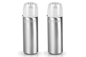 2x Prepara 110ml Aluminium Oil Vinegar Mister Spray Dispenser f Food Salad White