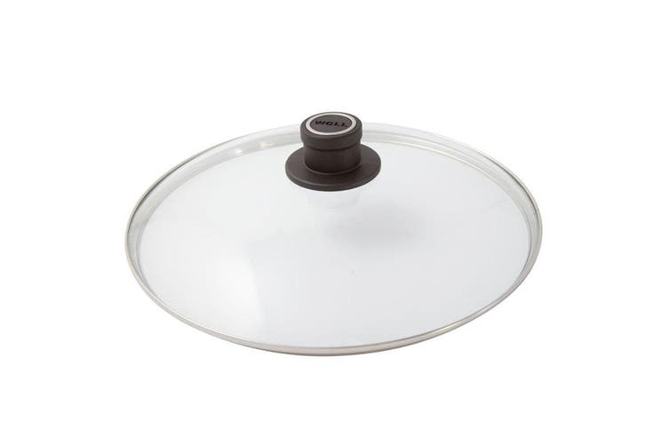 Woll 24cm Round Safety Tempered Glass Lid for Cookware Kitchen Fry Pan Saute Pot
