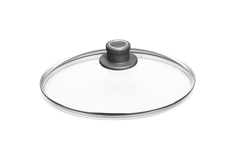 Woll 28cm Round Safety Tempered Glass Lid for Cookware Kitchen Fry Pan Saute Pot