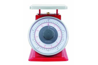 Savannah 5kg 20g Professional Mechanical Kitchen Scale Food Balanc Weight Red