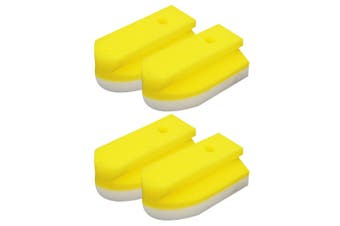 2x 2PK White Magic Eco Eraser Sponge Cleaner Replacements for Bathroom Shower YL