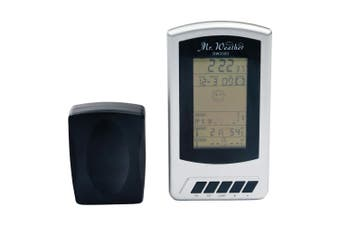 Derwent Weather Station Sensor w  Indoor Outdoor Temperature Time Alarm Function