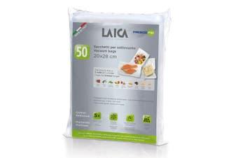 50PK Laica Vacuum Sealer Bags 20 x 28cm Food Storage Saver Seal Freezer BPA Free