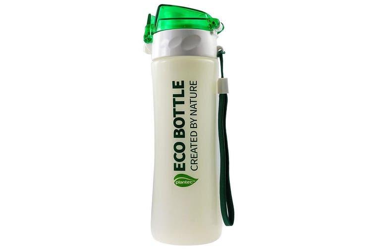 Plantec 500ml Nature Corn PLA Eco Drinking Bottle Recyclable BPA Plastic Free