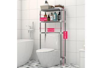 Bathroom Storage Rack Over Toilet Laundry Washing Machine Shelf Unit Organizer(Suit For Toilet bowl)