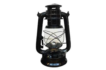 2 Colors Portable Retro Oil Lantern Kerosene Light Outdoor Camping Paraffin Lamp (black)