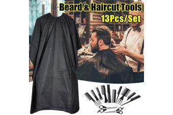 13Pcs/Set Hair Cutting Scissor Thinning Hairdressing Salon Professional Barber Tool Set(13PCS Barber set)