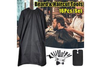 Hair Cutting Scissor Thinning Hairdressing Salon Professional Barber Tool Set(16PCS Barber set)