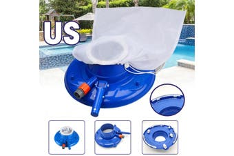 Portable Swimming Pool Pond Fountain Vacuum Brush Cleaner Cleaning Tool  (US)