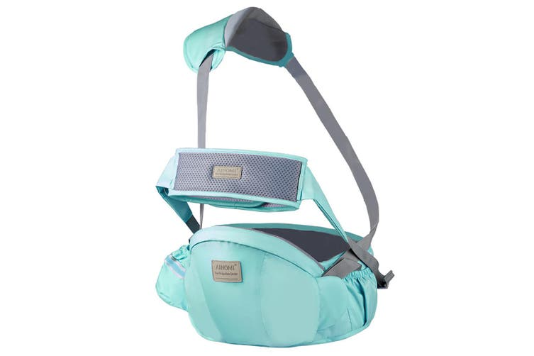 116cm Baby Breathable Waist Seat Belt Waist Stool Sling For Newborns Baby Carrier Backpack Hipseat(green)
