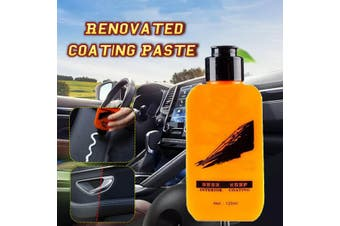 Car Interior Coating Polish Leather Renovated paste Car Dashboard Anti-stain Maintence Agent(120ML Maintenance Coating Paste)