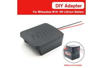 For Milwaukee M18 Li-ion Battery DIY Adapte Adapter Convert to DIY Connection