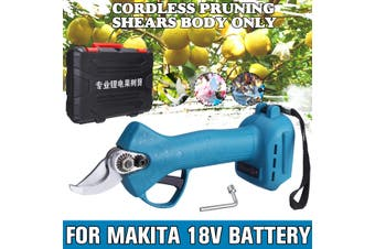 For Makita 18V Battery Electric Pruning Shears Secateur Branch Cutter Scissor Garden Tree Pruning