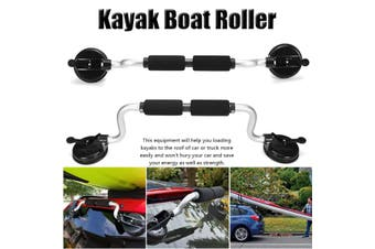 Kayak Load Assist Boat Roller Loader with Heavy-Duty Suction Cup Mount for Kayak Boats