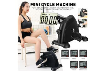 Mini Cycle Machine LCD Display Elderly Fitness Equipment For Home