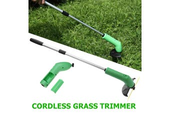 Electric Cordless Grass Trimmer Cutter Mower Lawn Cutting Garden Edging Ties Tool