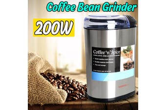 200W Electric Grain Coffee bean Grinder 220-240V Milling Grind Coffee Bean Nut Kitchen Manual Machine