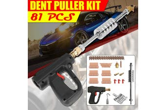 81Pcs Dent Puller Kit Car Body Spot Welder Repair Machine Stud Weld Welding Tool(81PCS)