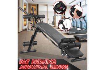 Household Dumbbell Bench Folding Sit-up Board Fitness Equipment (luxury Type) Multifunctional Foldable Adjustable Sit-up Abdominal Bench Press Weightlifting Fitness Device Abdominal Exercise Fitness