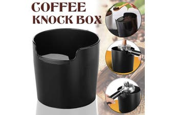 Coffee Knock Box Coffee Grind Dump Bin Espresso Waste Bin Large Container