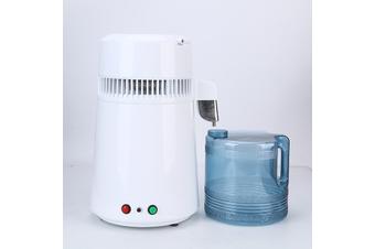 1Gal 4L 750W Stainless Steel Pure Water Distiller Electric Dental/Medical/Lab Home Water Distiller (AU Plug)