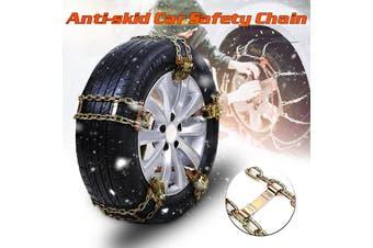 Universal Anti-skid Car Truck Steel Tire Chain Winter Snow Emergency Belt S''