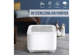 Air Purifier HEPA Filter Refresher UV Sterilizing Odor Dust Mold Cleaner Home