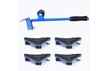 Furniture Moving Sliders Tool Kit Lifter Transport Shifter For Fridges Sofa Bed