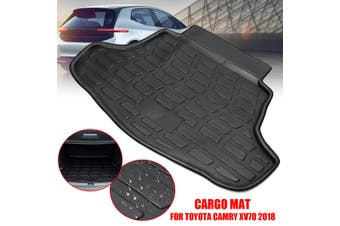 Rear Trunk Boot Liner Cargo Mat Floor Carpet Fit For Toyota Camry XV70 2018