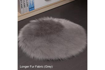 USB Pet Dog Cat Winter Electric Heated Pad 28.5 degrees Celsius Homothermal Electric Heating Mat Heater Waterproof Dog Blanket(grey)(Longer Fur)