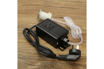 220-380V Air Switch Button & Plug For Massage Chair Spa Waste Garbage Disposal