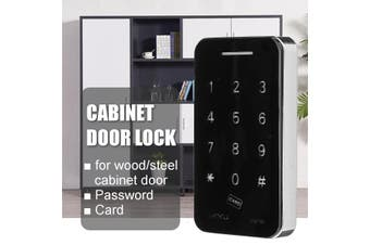 Electronic Cabinet Closet Door Lock Card Digital Password Home Office(wood cabinet door ID Card)
