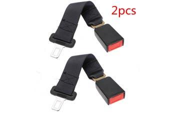 2pcs 36cm Car Seat Belt Seatbelt Extender Extension Buckle Seat Belts & Padding Extender Safety Adjustable