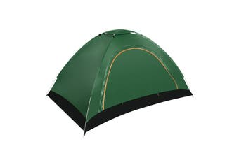 1-2 People Fully Automatic Portable Tent Family Picnic Travel Rainproof Windproof Outdoor Tent(darkgreen)(Style B)