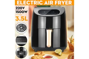 1000W 2L Air Fryer Electric Air Fryer Digital Timer Temp Control(EU Standard 220V)