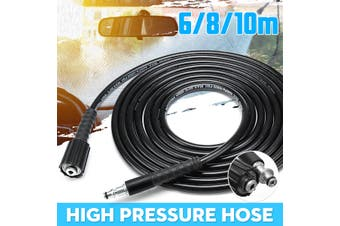 10M High Pressure Washer Water Drain Sewer Cleaning Hose M22 & Clip Type For Karcher K2 K3 K4 K5