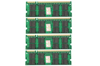 8GB 4X 2GB PC2-6400 Laptop Memory RAM DDR2 800Mhz NON-ECC 200Pin SODIMM AU AU