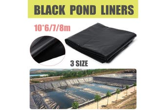 20/23/26 x 33ft Fish Pond Liner Membrane Outdoor Garden Reinforced Anti-seepage Geomembrane of Composite Geomembrane for Fish Pond(8m by 10m)