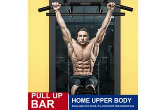 【 Indoor Activities】Steel Wall Mount Pull up Bar Chin Exercise Equipment Upper Body Home Gym Fitness