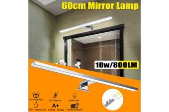 KingSo 800Lm LED Hard Strip Bar Table Mirror Lamp Light Bedside Reading Book Desk Cabin(1PC 48LED 800Lm)
