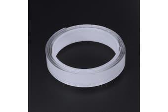1m Length Magic Tape Washable Double-sided Adhesive Nano Gel Acrylic Foam Tape Transparent 1/2/3/5cm(Width2CM Length1m)